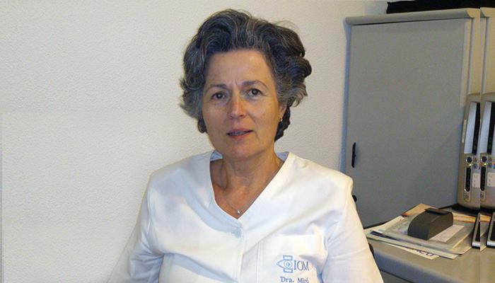 Dra. Miró, socio-fundador del IOM
